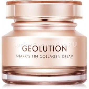 Антивозрастной крем для век с коллагеном и скваленом Tony Moly Geolution Sharks Fin Collagen Eye Cream