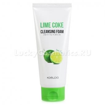 Пенка для умывания с экстрактом лайма и газированной водой Koelcia Lime Coke Cleansing Foam