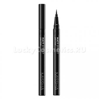 Матовая подводка для глаз Missha Matt Effect Pen Liner