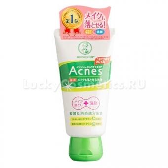 Крем-гель для умывания Mentholatum Acnes Medicated Make-up Cleansing Face Wash