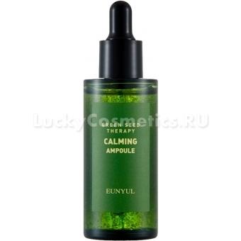 Успокаивающая сыворотка для лица Eunyul Green Seed Therapy Calming Ampoule