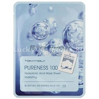 Тканевая маска с гиалуронатом натрия Tony Moly Pureness 100 Mask Sheet Hyaluronic Acid