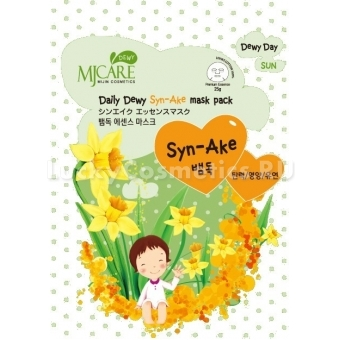 Маска с змеиным пептидом Mijin Cosmetics Mj Care Daily Dewy Syn-Ake Mask Pack