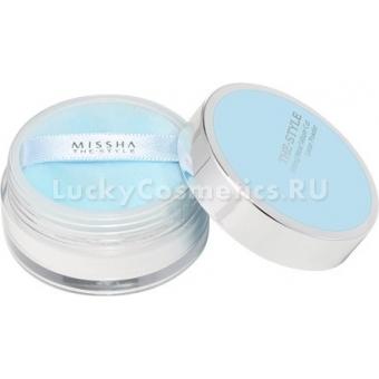 Рассыпчатая пудра для лица Missha The Style Fitting Wear Sebum Cut Loose Powder