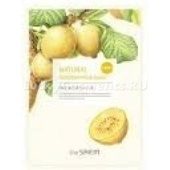 Маска для лица с экстрактом киви тканевая The Saem Natural Gold Kiwi Mask Sheet
