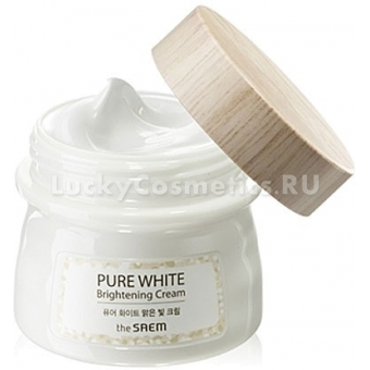 Крем для сияния кожи The Saem Pure White Brightening Cream