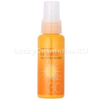 Спрей солнцезащитный  Tony Moly  Spf30 UV Sunset All Over Sum Mist