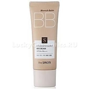 ББ крем «Сверхзащита от солнца» The Saem SPF50 Eco Earth Super BB Cream SPF50+ PA+++