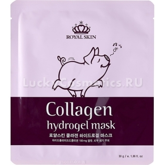 Гидрогелевая маска Royal Skin Collagen hydrogel mask