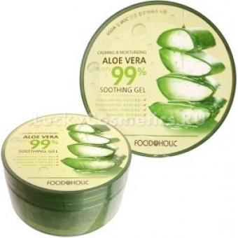 Увлажняющий гель FoodaHolic Calming and Moisturizing Aloe Vera Soothing gel