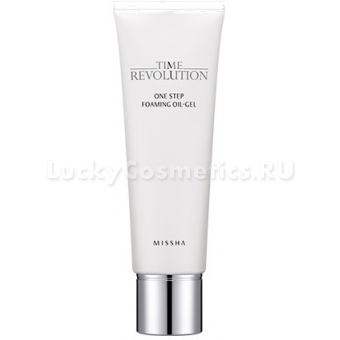 Очищающий гель Missha Time Revolution One Step Foaming Oil-Gel