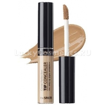 Консилер-контур бежевый The Saem Cover Perfection Tip Concealer Contour Beige