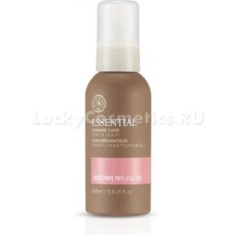Восстанавливающая сыворотка для волос The Face Shop Essential Damage Care  Hair Serum