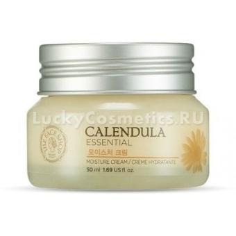 Увлажняющий крем с календулой The Face Shop Calendula Essencial Moisture Cream