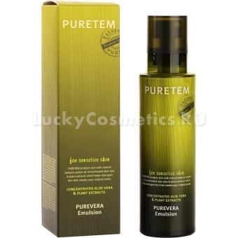 Восстанавливающая эмульсия Welcos Puretem Purevera Emulsion