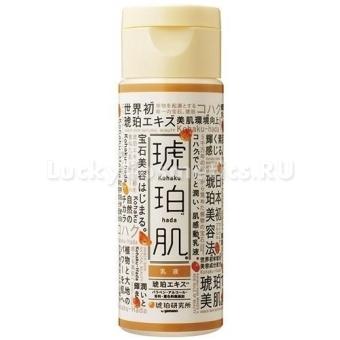 Дневной лосьон-молочко с янтарным порошком Yamano Kohaku Hada Emulsion