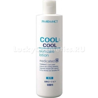Слабокислотный лосьон для мужчин Kumano Cosmetics Pharmaact Cool AndCool Skin Care Lotion