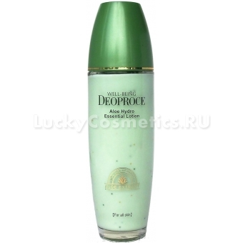 Лосьон для тела Deoproce Well-Being Aloe Hydro Essential Lotion