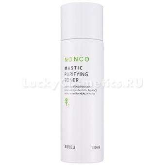 Очищающий тоник для чувствительной кожи A'pieu Nonco Mastic Purifying Toner