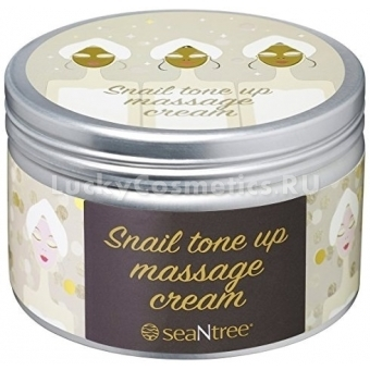 Крем для лица массажный Seantree Snail Tone Up Massage Cream