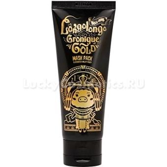 Маска-плёнка с золотом и EGF Elizavecca Hell-Pore Longo Longo Chronique Gold Mask Pack