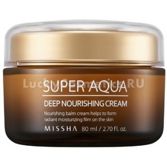 Суперпитательный крем для лица Missha Super Aqua Ultra Waterful Deep Nourishing Cream
