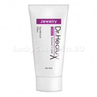 Крем для лица с экстрактом жемчуга Dr. Healux Jewelry Renewal Cream
