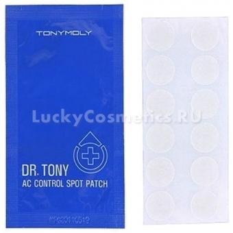 Патчи для проблемной кожи Tony moly DR Tony AC control Spot Patch