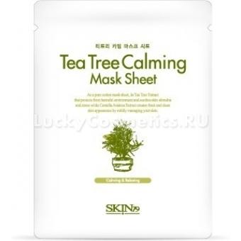 Тканевая маска с экстрактом чайного дерева Skin79 Tea Tree Calming Mask Sheet