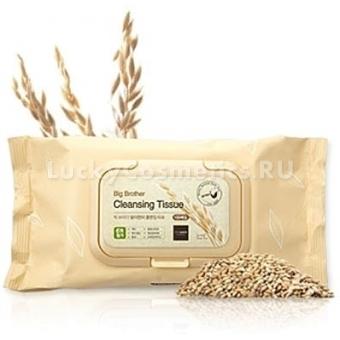 Косметические салфетки с рисовым экстрактом The Saem Big Brother Sprouted Brown Rice Cleansing Tissue