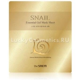 Гидрогелевая маска с экстрактом улитки The Saem Snail Essential Gel Mask Sheet