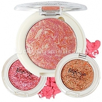 Тени для век кушон The Saem Ally's Ajell Jelly Cushion Shadow