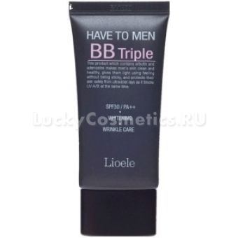 ББ крем для мужчин 3 в 1 Lioele Have to Men BB Triple, SPF30/PA