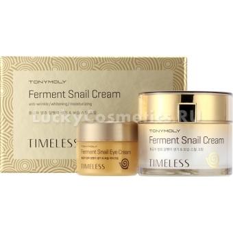 Набор: крем для лица и крем для век Tony Moly Intense Care Snail Cream Special Set