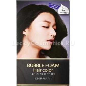 Мусс для окрашивания волос Enprani Bubble Foam Hair Color