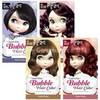Краска-мусс для волос Holika Holika Angel`s Ring Bubble Hair Color