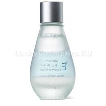 Трехфазное увлажняющее средство The Saem The Essential Triplus Hydrating Ampoule