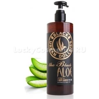 Успокаивающий гель для лица с алоэ Baviphat Urban Dollkiss The Black Aloe Soothing Gel