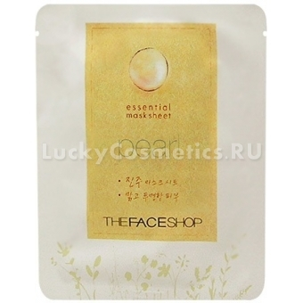Тканевая жемчужная маска The Face ShopEssential Pearl Mask Sheet