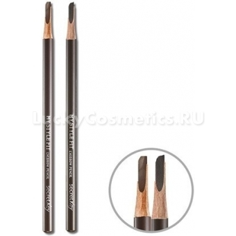 Пудровый карандаш для бровей Secret Key My Style Fit Eyebrow Pencil