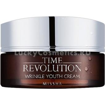 Крем от морщин Missha Time Revolution Wrinkle Youth Cream