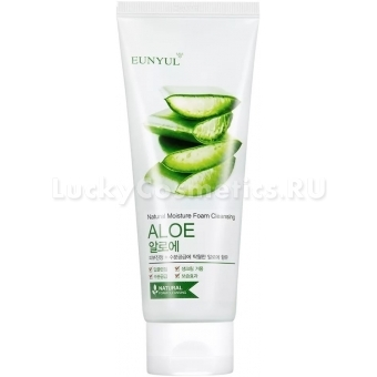 Пенка для умывания с соком алоэ Eunyul Aloe Foam Cleanser