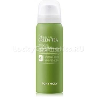 Увлажняющий спрей для лица с зеленым чаем Tony Moly  The ChokChok Green Tea Watery Mist