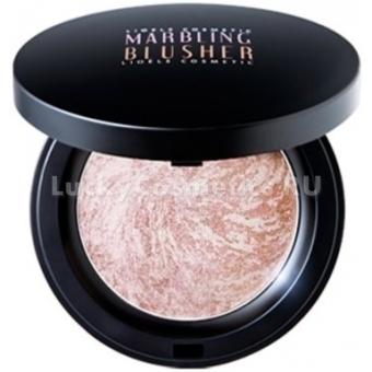 Румяна мраморные запеченые Lioele Marbling Blusher Lovely Pink