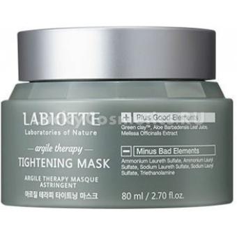 Поросужающая маска для лица Labiotte Argile Therapy Tightening Mask