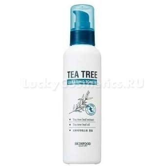 Очищающий тоник с экстрактом чайного дерева Skinfood Tea Tree Cleansing Toner