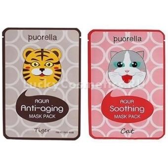 Увлажняющая маска-салфетка Puorella Aqua Mask Pack