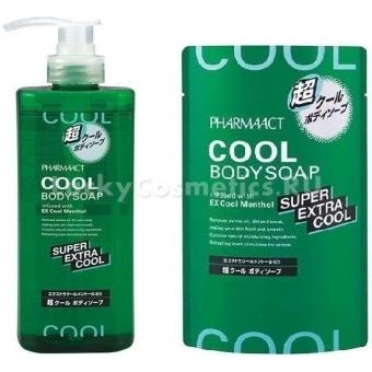Жидкое мыло Kumano Cosmetics Pharmaact Extra Cool Body Soap