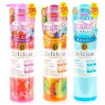 Очищающий пилинг-гель Meishoku Detclear Bright And Peel Aha And Bha Fruits Peeling Jelly