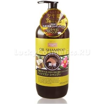 Шампунь для сухих волос с 3 видами масел Deve Natural Oil Shampoo